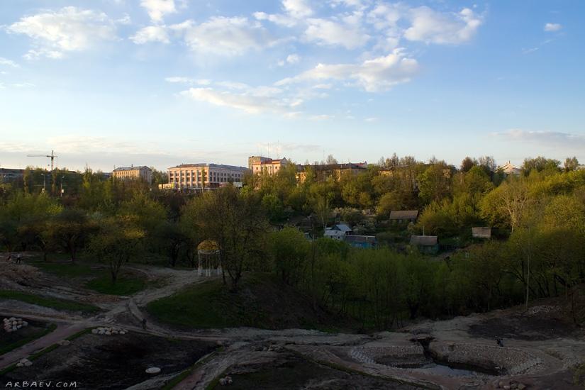 Стройка парка