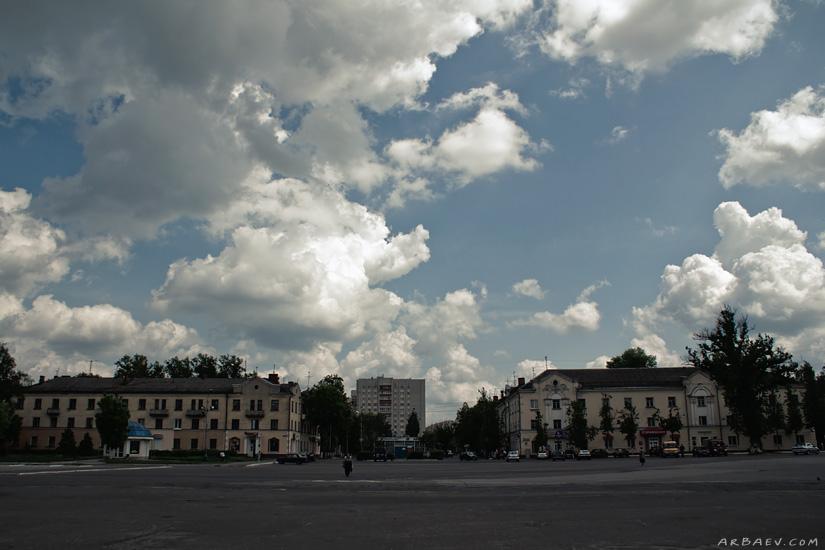 Площадь у ДК Железнодорожников
