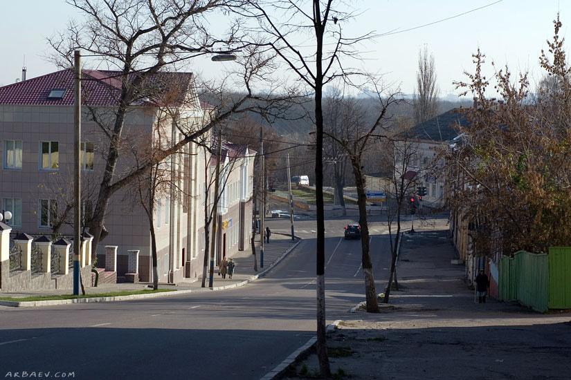 улица Фокина вниз