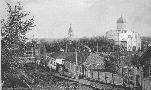 Вид с верхней точки, начало XX века