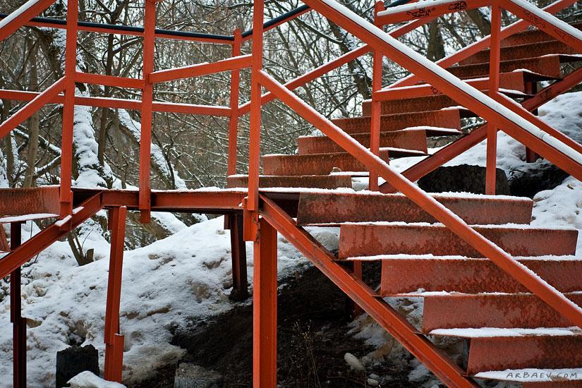 Кривая лестница