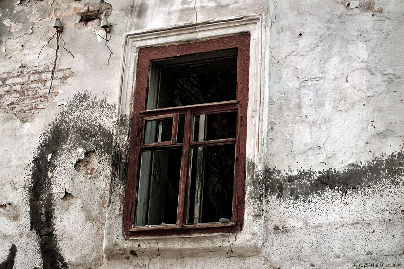 Фрагмент уцелевшего дома