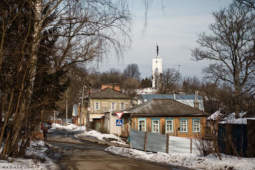 Вид на Покровскую гору