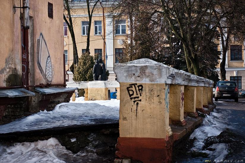 Памятник Горькому и Ленину