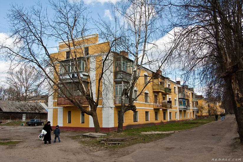 Трёхэтажный дом
