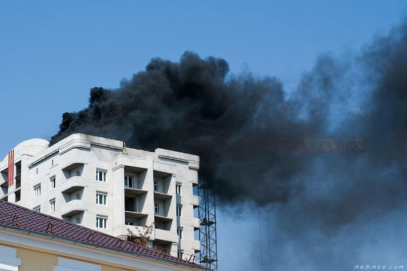 Черный дым