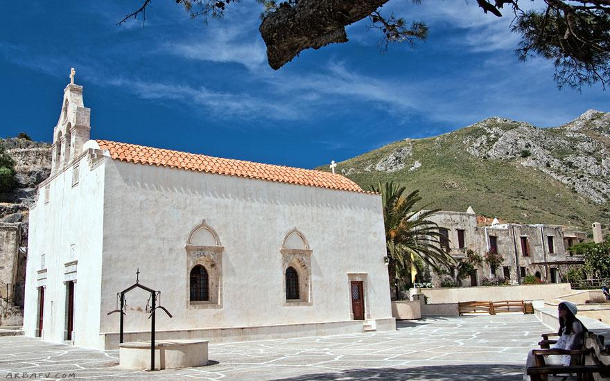 Монастырь в Превели