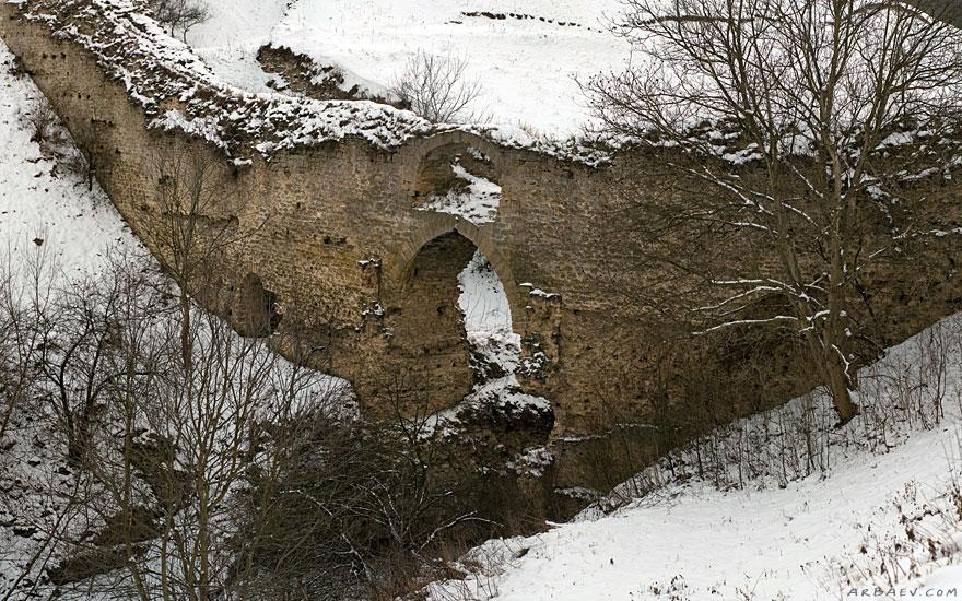 Остатки стен