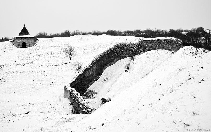 Остатки оборонительных стен
