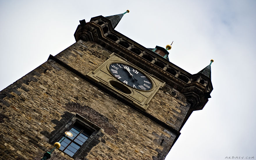 Часы на ратуше