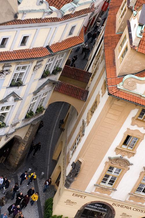 Вид со Староместской ратуши