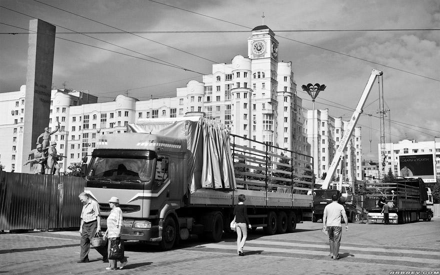 Новая площадь Партизан