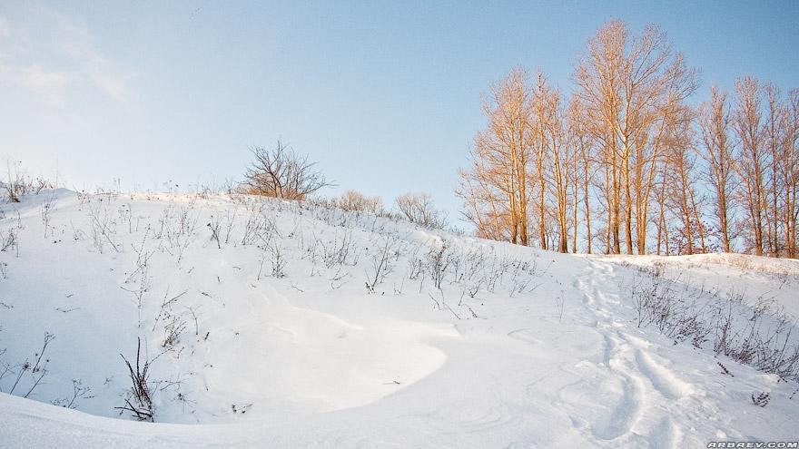 Зимний пейзажик