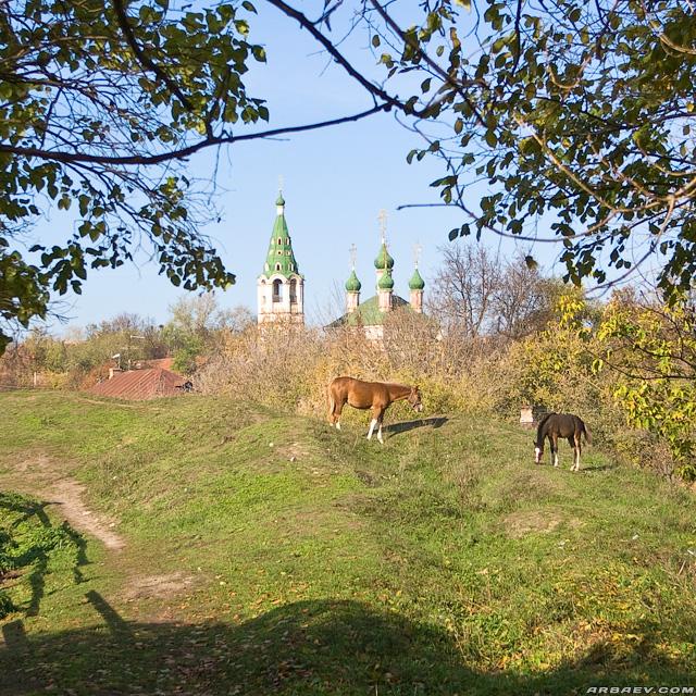 Серпухов. Церковь Живоначальной Троицы