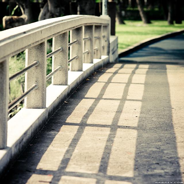 мостик в Лумпини-парк