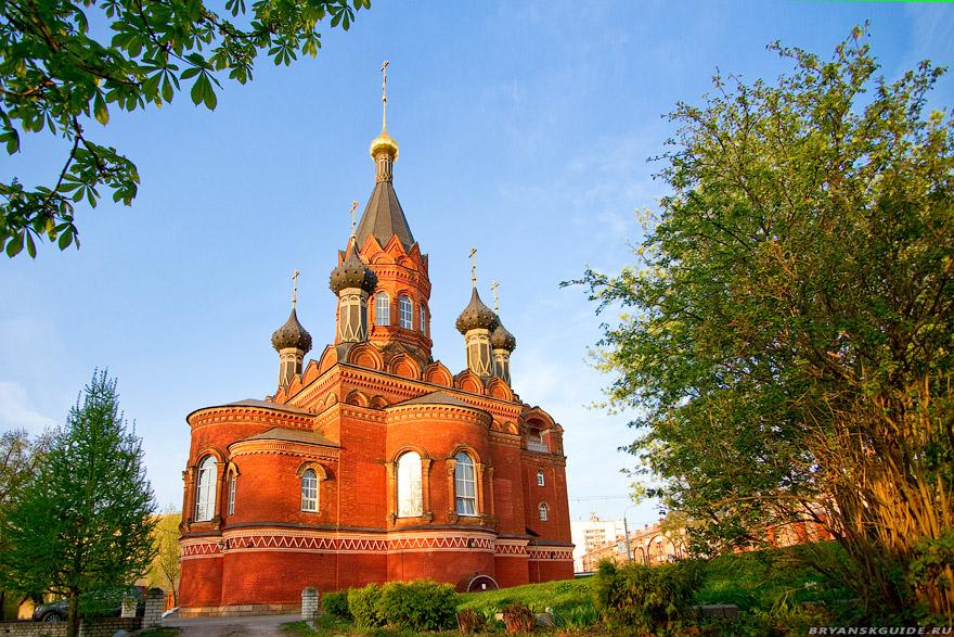 Спасо-Гробовская церковь в Брянске