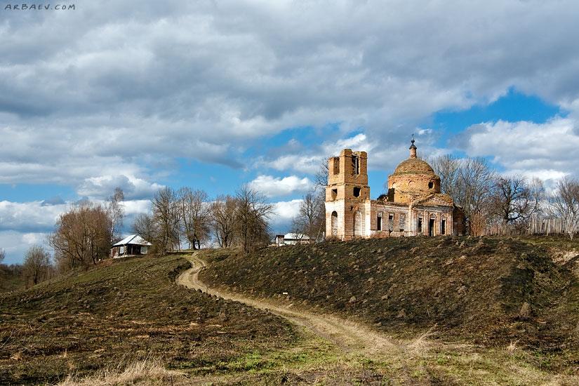 Церковь Николая Чудотворца в Елисеевичах