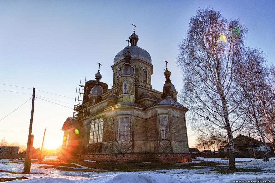 Храм в честь святого великомученика Георгия Победоносца в селе Елионка